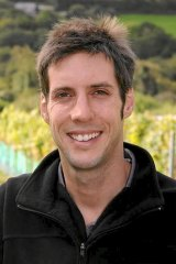 Camel Valley grower Sam Lindo, three-time winner of UK winemaker of the year.