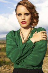Presence: Anna Calvi says she doesn't take drugs because she ''can't deal with being out of it''.