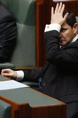 Kevin Andrews in Parliament.