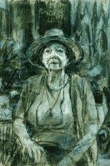 <i>Study of Margaret Olley</i>, by Nicholas Harding