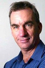 Fairfax cricket writer Peter Roebuck.