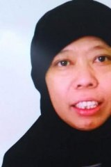 Satinah Binti Jumadi Ahmad, an Indonesian on death row in Saudi Arabia.
