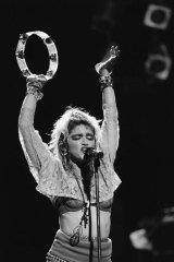 Madonna at Radio City Hall in 1985.