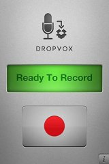 Simple: Dropvox for iPhone.