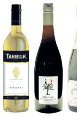 (From left) Tahbilk Marsanne 2011; Yabby Lake Red Claw Pinot Noir 2010; Cattier Brut Premier Cru; Dal Zotto Pucino Prosecco.