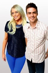 Hoax call ... 2Day FM presenters Mel Greig, left, and Michael Christian.
