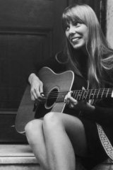A '60s icon .. Joni Mitchell.