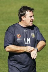 Lawrie McKinna, director of football and former coach of Central Coast Mariners.