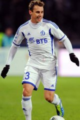 ''No-brainer'' … Luke Wilkshire has agreed to stay with Dynamo Moscow for an extra two years.
