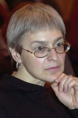 Murdered Russian journalist Anna Politkovskaya.