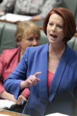 'Julia Gillard, her political allies and office strategists are good at spooking tactics - they have messed with Abbott's mind.'