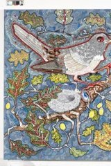 <i>The Nightingale and the Rose</i>, by Del Kathryn Barton.