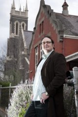 Stephen Woods in Ballarat, where he was raped and abused by Catholic clergy as a child.