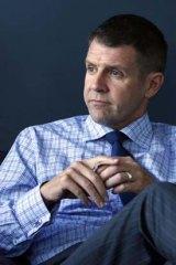 """The budget is under increasing pressure"" ... NSW treasurer Mike Baird."