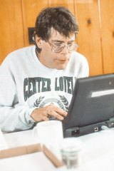 Stephen King ... possibly the first major US novelist to complete a work on a word processor.