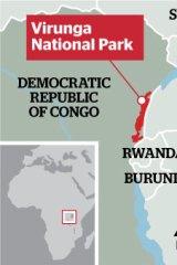 Virunga National Park.