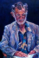 John Dengate. Portrait by Kathryn Scott