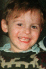 James Bulger ... his murder by children shocked Britain.