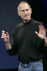 Former Apple CEO: The late Steve Jobs.