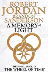 Final fantasy ... <em>A Memory of Light</em> by Robert Jordan and Brandon Sanderson. Orbit, $35.