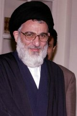 Ayatollah Hashemi Shahroudi pictured in 2004.
