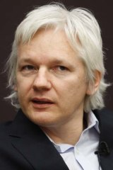 Julian Assange ... fighting extradition.