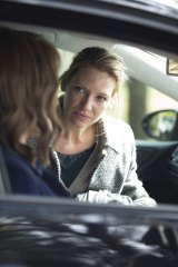 Anna Torv as Harriet, right, in the series Secret City (airing of Foxtel's Showcase).
