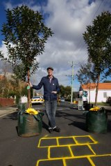 Led by Jason Roberts, pictured, residents of High Street, Coburg, are working to revitalise their suburb.