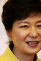 South Korea's President Park Geun-hye.