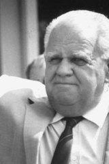 Former minister Russ Hinze.