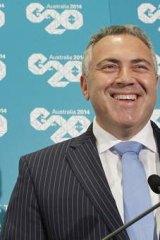 ''Shifting the dial'' on expansion: Treasurer Joe Hockey.