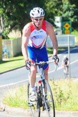 Legitimate expense: Tony Abbott justifies his participation in the 2011 Ironman event in Port Macquarie.