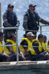 Immigration officials want filming of asylum seekers stopped.
