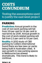 Behind the plan to justify the east-west link.