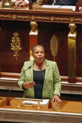 """""""We are happy and proud to have taken this first step"""" ... French Justice Minister Christiane Taubira."""
