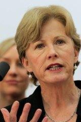 Greens leader Senator Christine Milne.