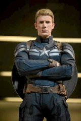 Chris Evans in <i>Captain America: The Winter Soldier</i>.