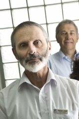 Ben's father Geoffrey Zygier.
