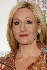 <i>Harry Potter</i> author J.K. Rowling.