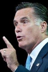 ''Gratuitous''... Mitt Romney.