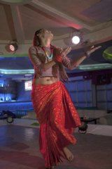 The girls dancing in Kathmandu's bars are often from remote areas and dance to support their families.