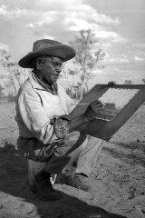 Painter ... Albert Namatjira in 1958.