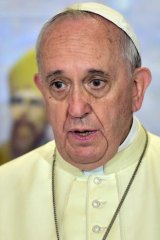 Pope Francis has visited Jorge Mejia in hospital as news of the drugs find broke.