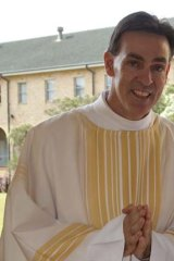 Father Bryan Roe found inner strength.