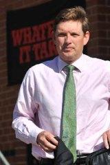 Essendon chairman David Evans.