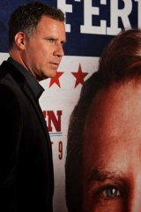 Face off ... Will Ferrell, pictured, goes up against Zach Galifianakis in <em>The Campaign</em>.