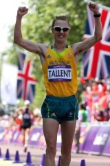 Controversy: Jared Tallent wins silver in London. He believes he was beaten by drug cheats at both the 2008 and 2012 Olympics.