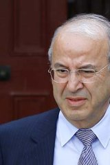 Medical tests … Eddie Obeid.