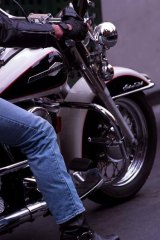 Call for calm: Recreational bikers are complaining of being unfairly caught in the criminal bikie gang crackdowns.
