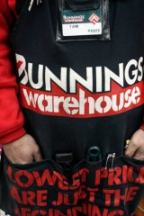 Bunnings is raising the roof on bigger stores.